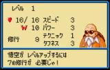 Dragon Ball 3: Gokūden WonderSwan Color Character information