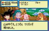 Dragon Ball 3: Gokūden WonderSwan Color Conversation with a turtle