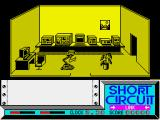 Short Circuit ZX Spectrum Game start