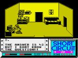 Short Circuit ZX Spectrum Life, the universe, and a joke which soon wears thin