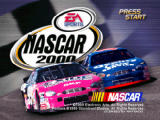 NASCAR 2000 Nintendo 64 Title screen.