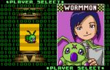 Digimon: Battle Spirit WonderSwan Color Wormmon, one of the characters