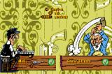 Lucky Luke: Wanted! Game Boy Advance Options screen