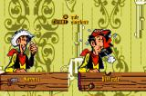 Lucky Luke: Wanted! Game Boy Advance Starting an Adventure: Choose your difficulty settings