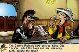 Lucky Luke: Wanted! Game Boy Advance Intro: Now it's up to Lucky Luke to save the day once again!