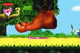 Pink Panther: Pinkadelic Pursuit Game Boy Advance Monty Python anyone? In this level, Pink has to find a way to advance in the level without being squashed