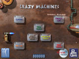 Crazy Machines: The Wacky Contraptions Game Windows Main Menu
