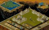Populous II: Trials of the Olympian Gods DOS In-game shot