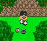 Torneko no Daibōken: Fushigi no Dungeon SNES Run out of HP in a dungeon and the monsters will throw you out on your face