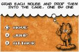 Garfield: The Search for Pooky Game Boy Advance Each stage has its own objectives.