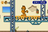 Garfield: The Search for Pooky Game Boy Advance Sticky surfaces means Garfield can't jump on them