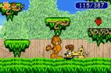 Garfield: The Search for Pooky Game Boy Advance Get Odie to dig holes and reveal treasures