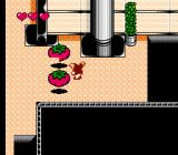 Gremlins 2: The New Batch NES Level 1, characterized by genetically-modified mutant tomatoes.