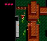 Gremlins 2: The New Batch NES Level 3: hands are coming out of the floors.