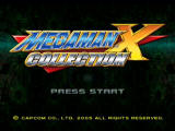 Mega Man X Collection GameCube Title Screen