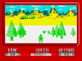 Winter Challenge: World Class Competition ZX Spectrum Skiing start