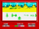 Winter Challenge: World Class Competition ZX Spectrum Crash!