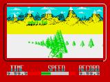Winter Challenge: World Class Competition ZX Spectrum Big crash