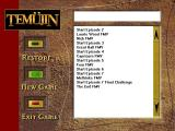 Temüjin Windows Main Menu (more or less).
