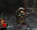 Legacy of Kain: Defiance Windows Kain takes a moment in combat to feed