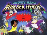 Mighty Math Number Heroes Windows Title screen
