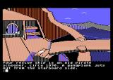 Mindshadow Atari 8-bit On a ship that rescued me