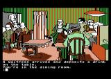 Mindshadow Atari 8-bit A waitress leaves you a drink