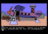 Mindshadow Atari 8-bit Fly off to the next location...