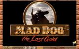 Mad Dog II: The Lost Gold DOS Title screen