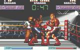 Final Blow Atari ST Videogame fighters/boxers are always from Detroit