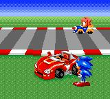 Sonic Drift Game Gear Intro