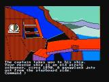 Mindshadow PC Booter On a pirate ship (CGA with composite monitor)