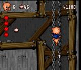 Porky Pig's Haunted Holiday SNES Follow the arrows so you wouldn't get lost