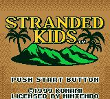 Survival Kids Game Boy Color European Title Screen