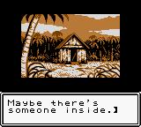 Survival Kids Game Boy Color Finding a hut