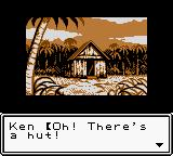 Survival Kids Game Boy Color The player finds shelter
