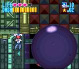 Tiny Toon Adventures: Buster Busts Loose! SNES This button reverses gravity