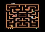 Ms. Pac-Man Atari 8-bit Only a few dots left!
