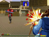 Xiake Yingxiongzhuan Windows Boss battle in a town. The boss attacks, I'm hurt...