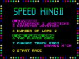 Speed King 2 ZX Spectrum Title screen