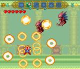Magical Pop'n SNES Using one of the special moves.  Each magic move has a regular move and a special move