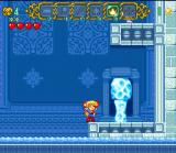 Magical Pop'n SNES Using the fire move to melt down icy blocks