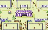 Kings of the Beach Commodore 64 From the main beach you can access all game modes