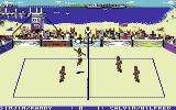 Kings of the Beach Commodore 64 Attacking