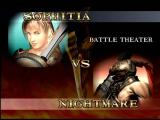 SoulCalibur Dreamcast Sophitia vs. Nightmare