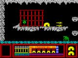 Frost Byte ZX Spectrum Game start - don't forget to pick up the ammo