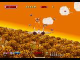 After Burner SEGA 32X Enemy locked !