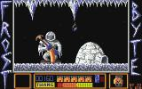 Frost Byte Atari ST Avoid the stalactites as they fall