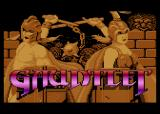 Gauntlet Atari 8-bit Title screen