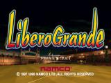 LiberoGrande PlayStation Title screen